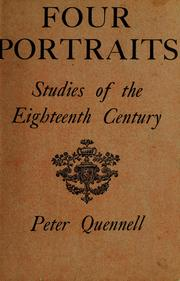 Four portraits by Quennell, Peter