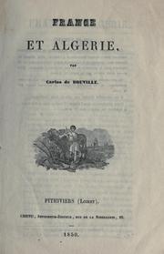 France et Algérie.