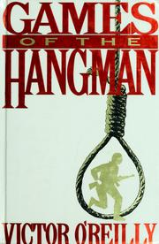 Games of the hangman by Victor O'Reilly