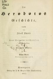 Cover of: Geschichte by Herodotus