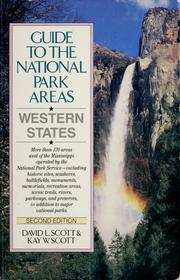 Guide to the national park areas by David Logan Scott, David Logan Scott
