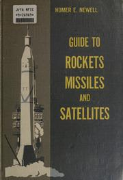Cover of: Guide to rockets, missiles, and satellites by Homer Edward Newell
