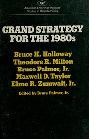 Grand strategy for the 1980's by