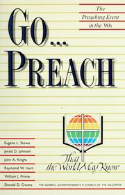 Cover of: Go-- preach by Supts General