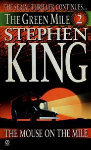 Cover of: The Green Mile by Stephen King