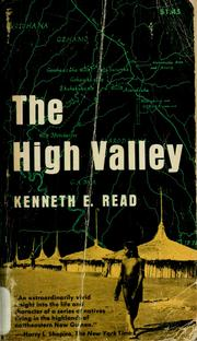 The high valley by Kenneth E. Read