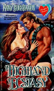 Cover of: Highland ecstasy by Mary Burkhardt