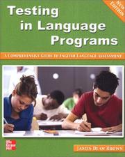 Testing in language programs PDF