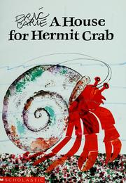 Cover of: A house for Hermit Crab | Eric Carle