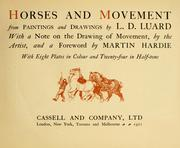 Horses and movement by Lowes Dalbiac Luard