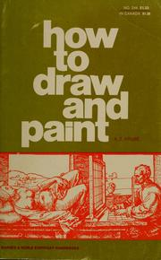 Cover of: How to Draw and Paint by Alexander Z. Kruse
