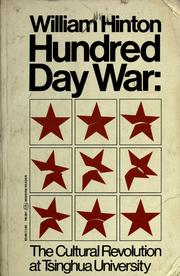 Hundred day war by William Hinton
