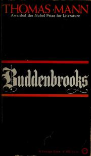 Buddenbrooks by Thomas Mann