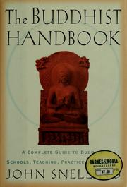 Cover of: The Buddhist handbook by John Snelling