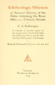 Ichthyologia ohiensis by C. S. Rafinesque