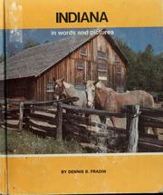 Cover of: Indiana in words and pictures by Dennis B. Fradin