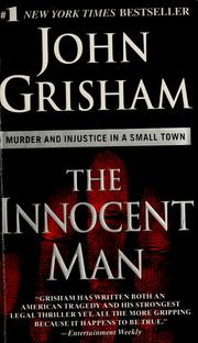 Cover of: The innocent man by John Grisham