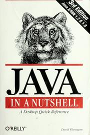 Cover of: Java in a nutshell by David Flanagan