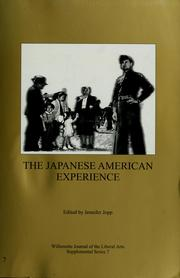 The Japanese American experience by