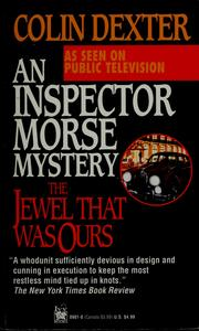 Cover of: The jewel that was ours by Colin Dexter