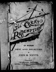 Cover of: The great redemption by John M. Whyte