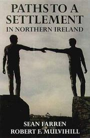 Paths to a settlement in Northern Ireland by Sean Farren