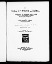 Cover of: The silva of North America by Sargent, Charles Sprague