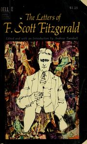 The letters of F. Scott Fitzgerald by F. Scott Fitzgerald