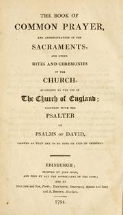 The primer by Church of England