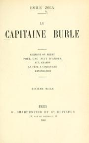 Le capitaine Burle by Émile Zola