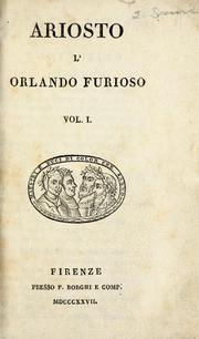 Cover of: L&#39; Orlando furioso by Lodovico Ariosto
