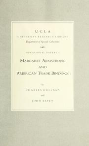 Margaret Armstrong and American trade bindings by Charles B. Gullans