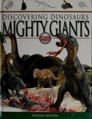 Cover of: Mighty giants by M. J. Benton