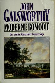 Cover of: Moderne Komödie by John Galsworthy