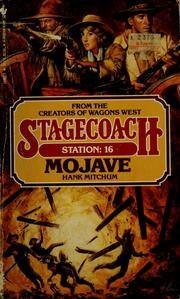 Cover of: Mojave by Hank Mitchum