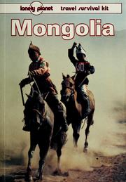 Cover of: Mongolia by Robert Storey