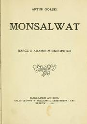 Monsalwat by Artur Grski