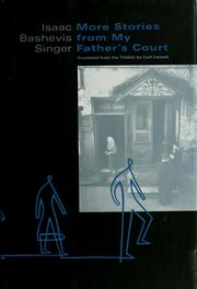 Cover of: More stories from my father's court by Isaac Bashevis Singer