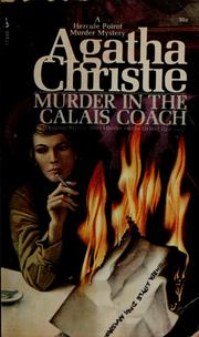Cover of: Murder on the Orient Express by Agatha Christie