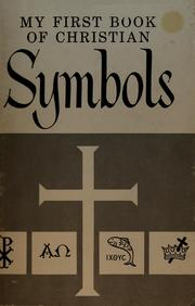 Cover of: My first book of Christian symbols by