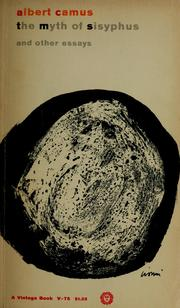 Cover of: The myth of Sisyphus by Albert Camus