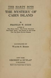 Cover of: The mystery of Cabin Island by Franklin W. Dixon