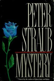 Cover of: Mystery by Peter Straub
