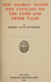 Cover of: New Arabian nights by Robert Louis Stevenson