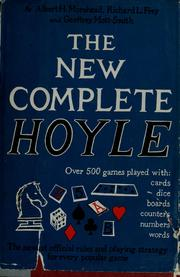 Cover of: The new complete Hoyle by Richard L. Frey