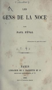 Cover of: [Oeuvres] by Paul Fval