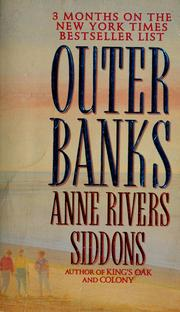 Cover of: Outer banks by Anne Rivers Siddons