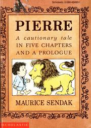 Cover of: Pierre by Maurice Sendak
