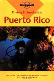 Lonely Planet Diving and Snorkeling Puerto Rico (Diving & Snorkeling) PDF