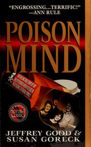 Cover of: Poison mind by Jeffrey Good